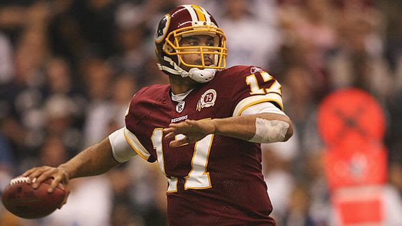 Redskins quarterback Jason Campbell