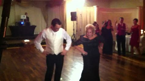 Toni and Charlie Caff   Best mom son wedding dance ever