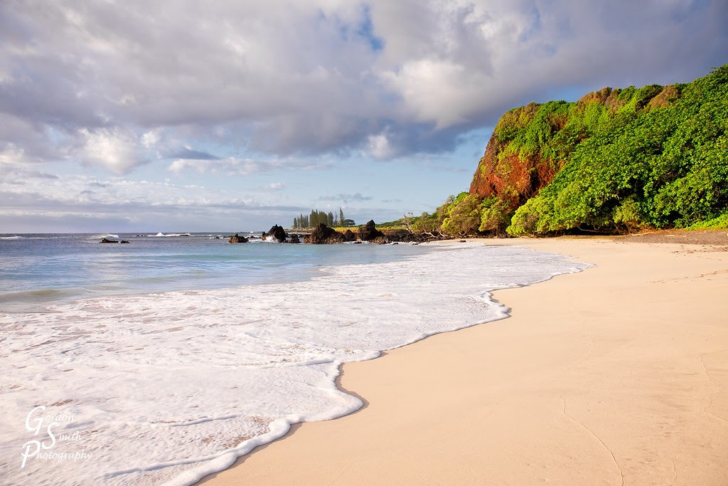 hamoa beach waves and sand are the best of maui