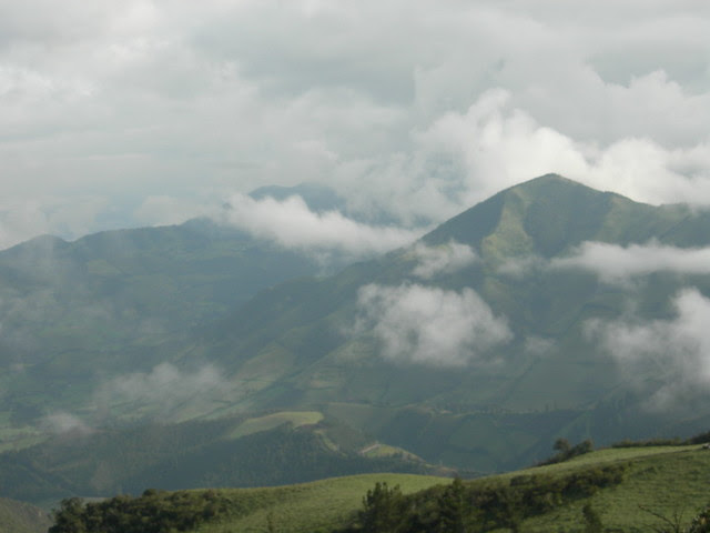 Clouds over Yanacocha