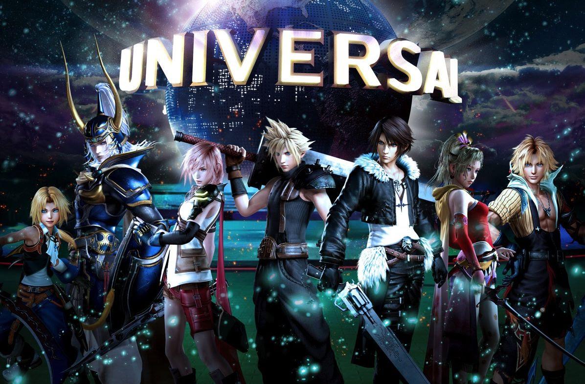 Final Fantasy XR Ride coming to Universal Studios Japan this January screenshot