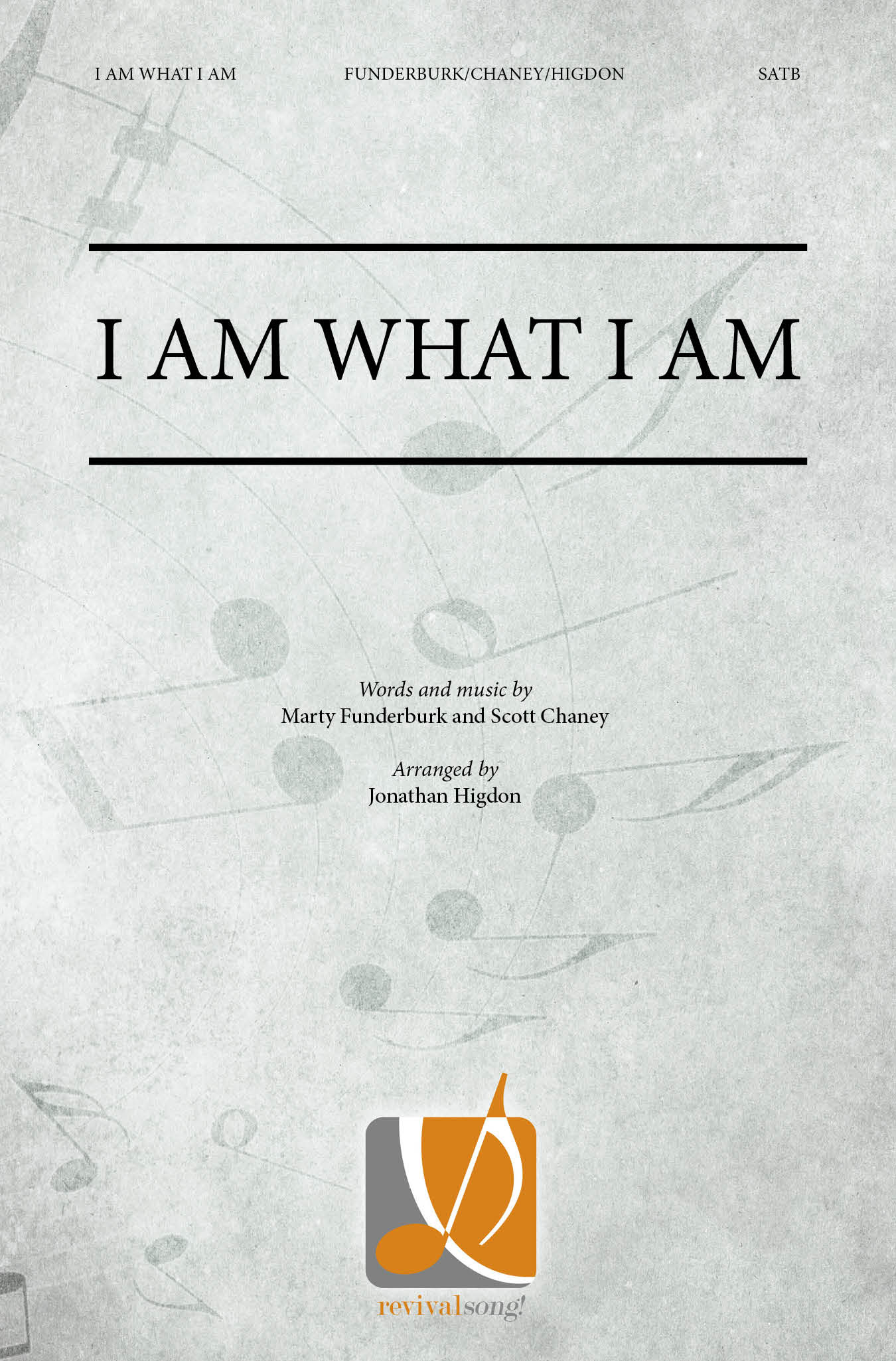I Am What I Am Satb042