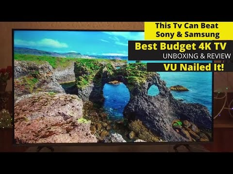Vu Premium Android 4k Android Smart TV 2020| In-Depth Review | Is It A Better Buy Than Sony & Samsung?