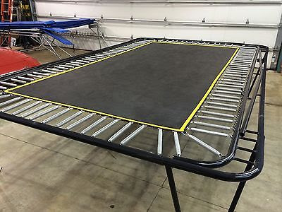 6 X 12 Straight Frame Trampoline Power Equipment