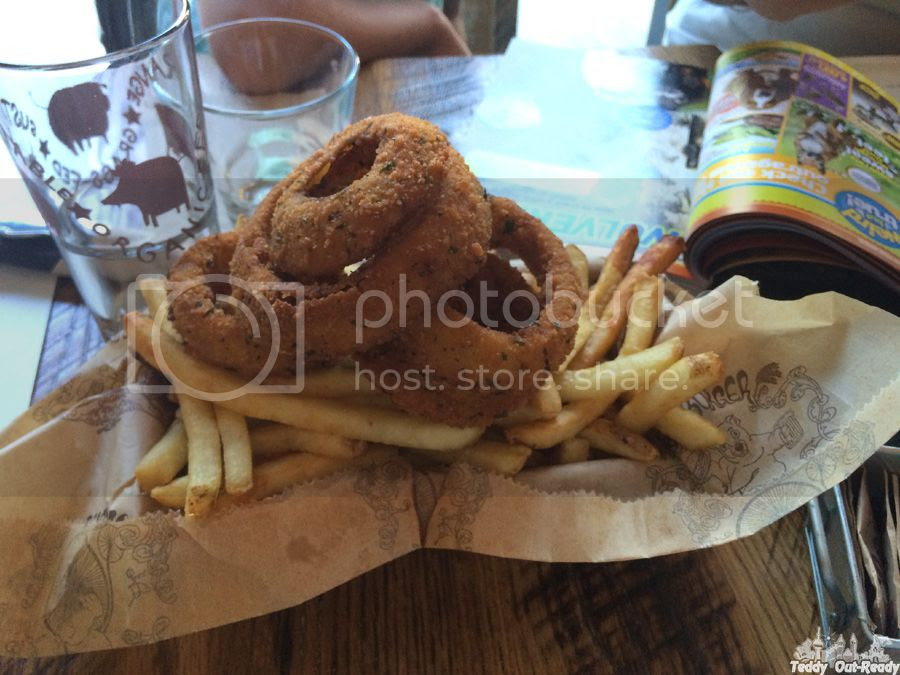 Bareburger onion rings
