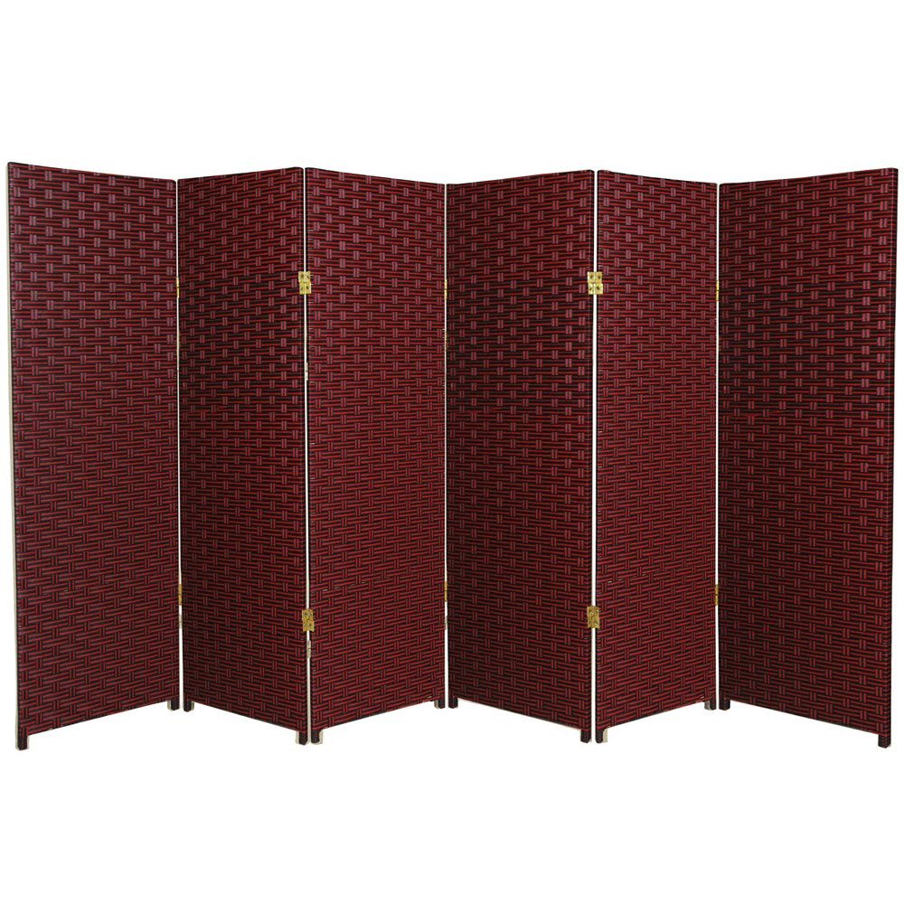 Ore Wood 4-Panel Room Divider - Natural - Furniture & Mattresses ...
