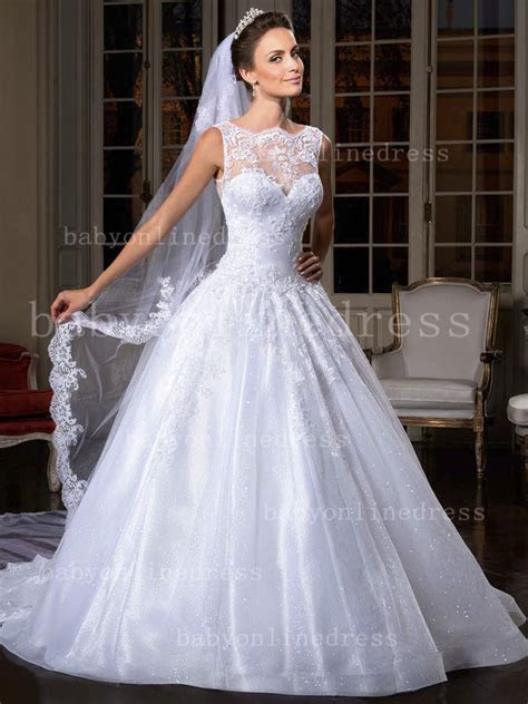 Free Shipping Wedding Dress Pattern Brazil Designer A Line