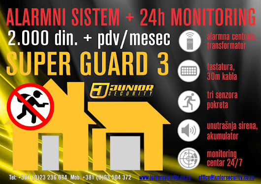 ALARMNI SISTEM SUPER GUARD 3