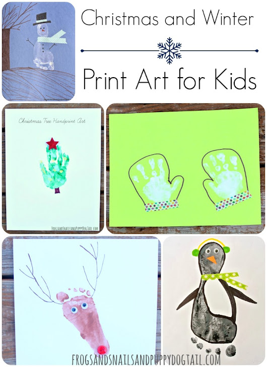 Christmas and Winter Print Art - FSPDT