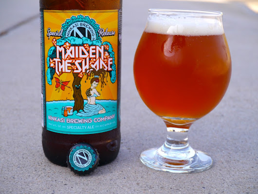 "Living the Life, ""Maiden the Shade"" from Ninkasi Brewing Company - Bomber Jacket"