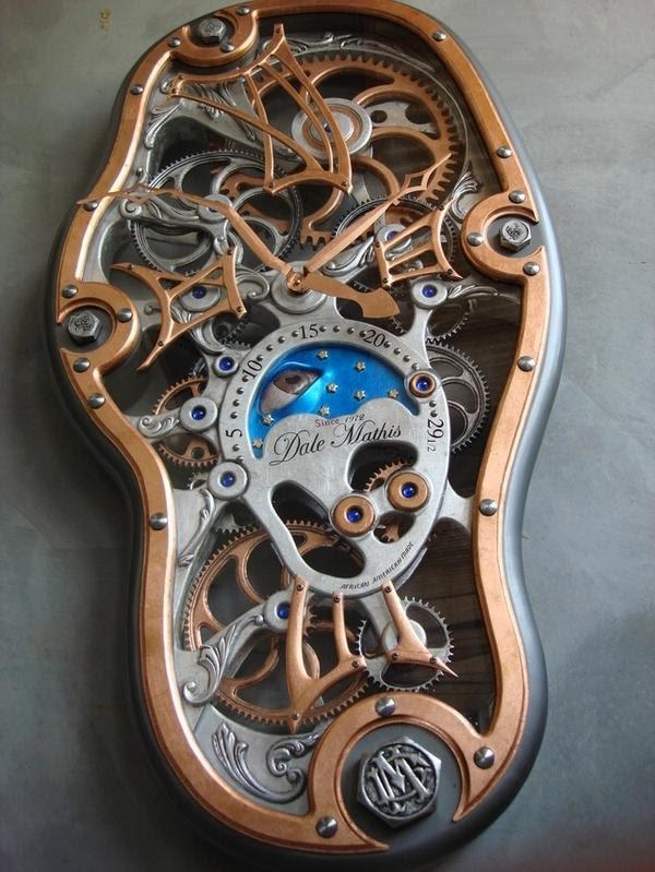 Dale Mathis - Relógio Salvador Daliano