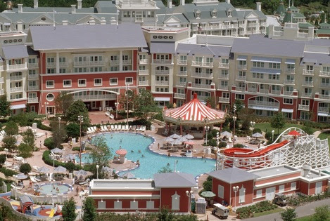 Disney's Boardwlk Inn- A look inside Disney Resort