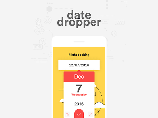 Datedropper 3.0: A powerful jQuery UI datepicker - Freebiesbug
