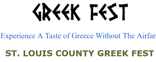 St. Louis County Greek Fest May 26th – 29th