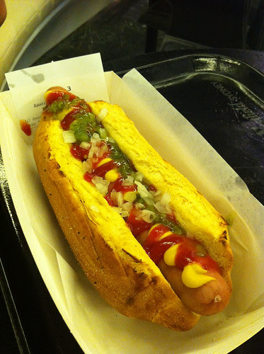Haute Dog at Snag Stand (Westfield Sydney)