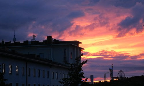 Sunrise 4.27 in Helsinki by Anna Amnell