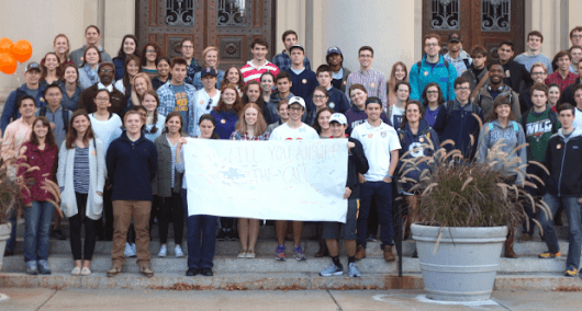 Students Celebrate Links Between Jesuit Values and Fossil Fuel Divestment Movement