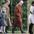 Philip goes solo: Queen misses Sunday service after catching a cold as Royals descend on Sandringham for Christmas