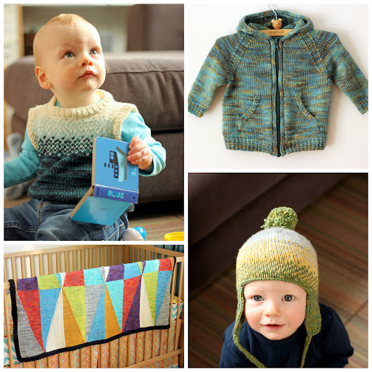 Knitted Bliss - Giveaway: Lucky Penny Baby E-Book and Tanis Fiber Arts Yarn!