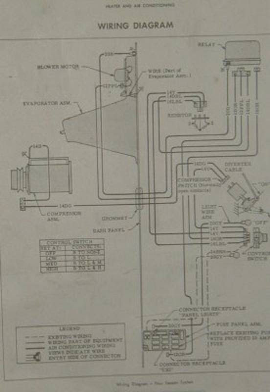 70 Chevy A C Wiring Diagram The 1947 Present Chevrolet Gmc Truck Message Board Network