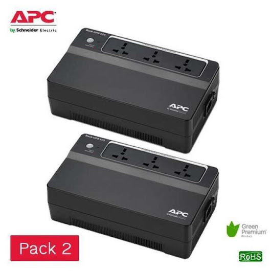 APC Back-UPS 625VA 325Watts BX625CI-MS Pack 2