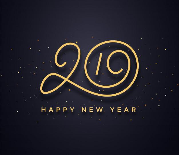 Bonne Année 2019 échappée Des Fougeretz