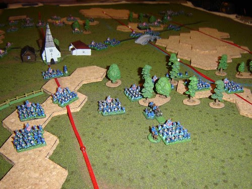 Union prepares to hold the railway, while reinforcements hold Cemetary Ridge and Culp's Hill