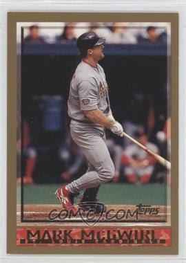 1998 Topps #325 - Mark McGwire - Courtesy of COMC.com