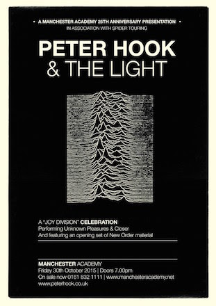 Unknown Pleasures & Closer live @ MCR Academy