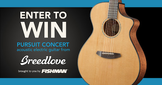 Win a Breedlove Acoustic!