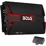 Boss Audio PD5000 5000W Mono D Car Audio Amplifier Power LED Amp with Remote by VM Express