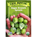 High Mowing Organic Seeds - Organic Dagan Brussels Sprouts - 1 Packet