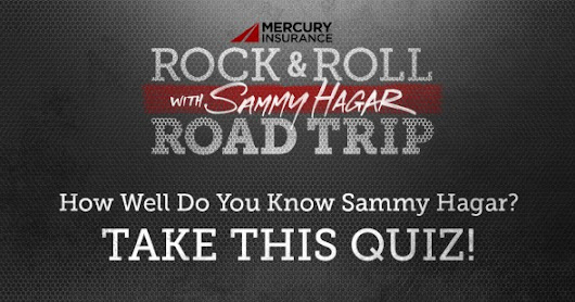 Test Your Sammy Hagar Knowledge & Enter to Win A Signed Guitar + More! | Sammy Hagar (The Red Rocker)