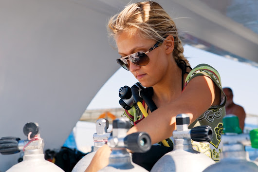 PADI Women in Diving: Anna Schmitt - Diving, Social & Community