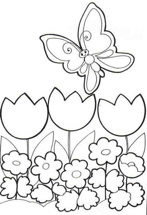 ilkbahar boyama sayfalari  okul oencesi etkinlik