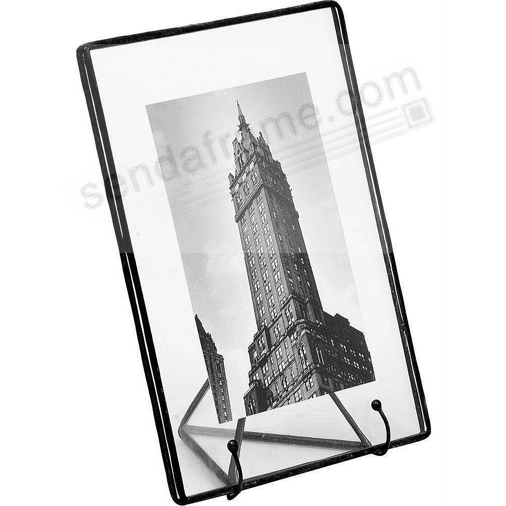 Clear Glass Float Frame 9x118x10 Black By Bedford Downing