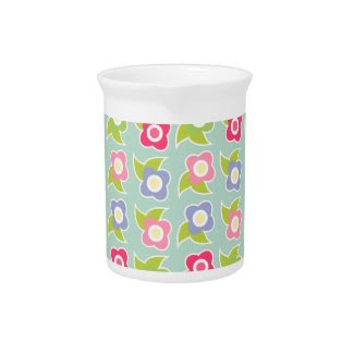 Spring Fling Pitcher zazzle_pitcher