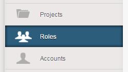 Roles tab