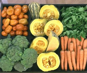 Legumes e verduras (Foto: Reprodução/TV Globo)