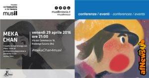 Stasera a Brescia Claudio Acciari presenta Meka Chan