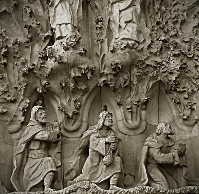 Three Wise Men at Nativity Portal