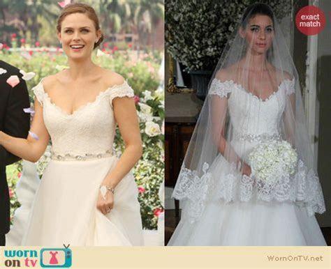 WornOnTV: Bones?s wedding dress   Emily Deschanel