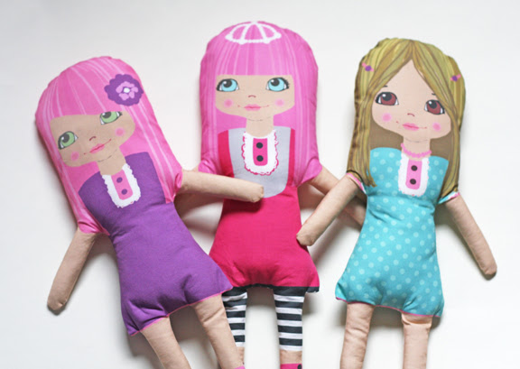 softie dolls