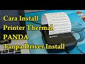 Tutorial Cara Install Printer Thermal Panda 80mm di PC Tanpa Driver