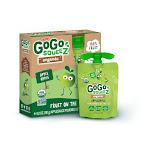 Gogo Squeez Organic, Apple Sauce, AppleApple - 12/3.2OZ - Pack of 6