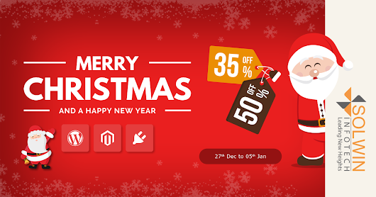 Christmas Offer 2016 - 35% To 50% OFF WordPress & Magento Products