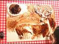 REDNECK ART made with BBQ RIBS - Speed Painting