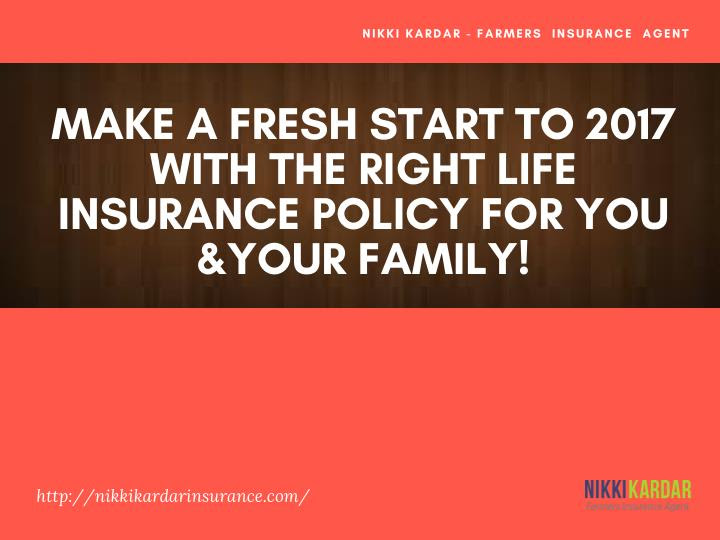PPT - Make a Fresh Start to 2017 With the Right Life ...