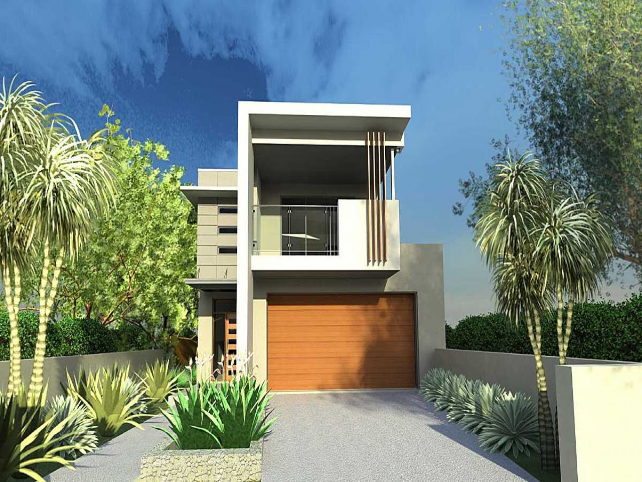 Narrow  Lot  House  Plans  with Front Garage  Lot  Narrow  Plan