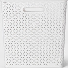"Y-Weave Cube Storage Basket White 13"" - Room Essentials , Size: 13""x13"""